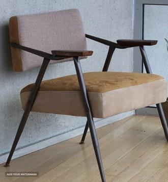 Vintage brown armchair
